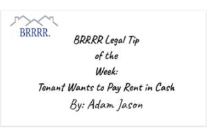 legal tip BRRRR invest
